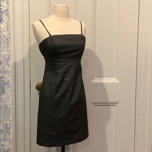 GAP Charcoal Cocktail Mini-Dress